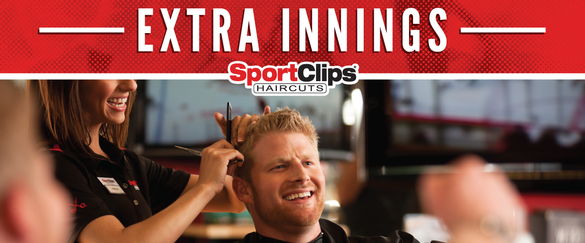 The Sport Clips Haircuts of Gambrills  Extra Innings Offerings